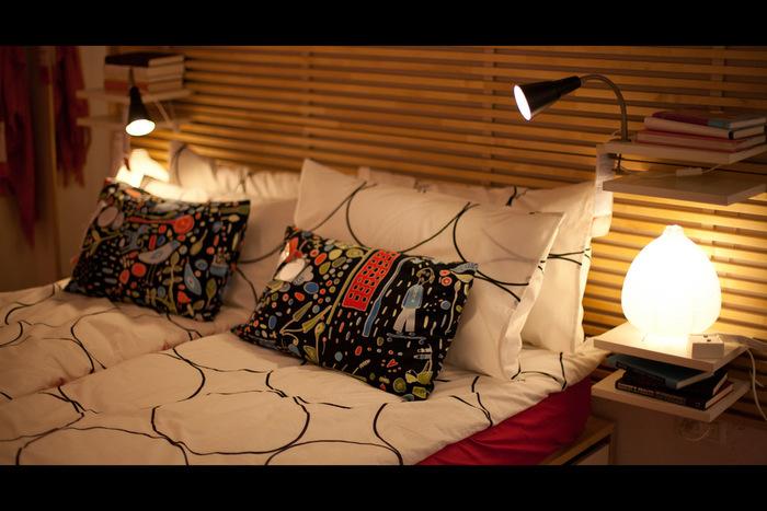 IKEAでおすすめはななんといってもランプシェードなどの照明アイテム。そして低予算でお部屋のイメージチェンジを図るには「照明」を変えるのが一番効果的です。