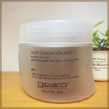 ヘアケアブランドとして有名なGIOVANNIの、ボディケア商品。上質はビターチョコレートの香りがバスルームいっぱいに広がります。