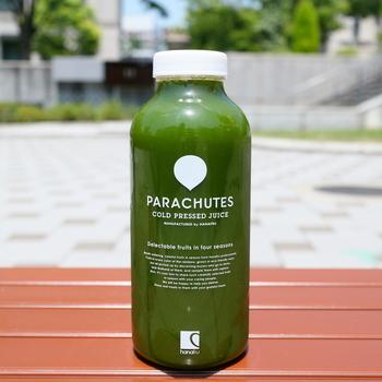 ピクニックのお供としてはもちろん、ランチ後の休憩にジュースを買って公園でのんびりするのも◎ 容器もかわいいので、飲み終わったら持ち帰ってインテリアにも使えそう。
