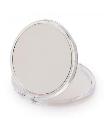 小さい手鏡を入れておくと、お化粧室のない場所でもさっと取り出して身だしなみを整えたりリップクリームをぬるときなどに便利です。