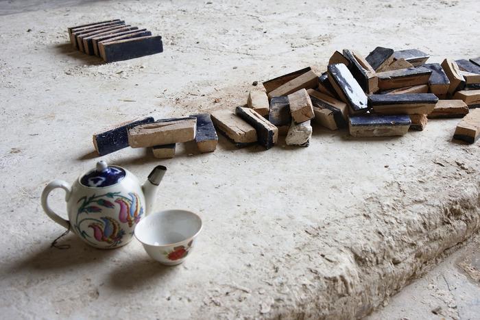 お茶を飲む文化、ここシルクロードにあり。ウズベキスタンの茶器も素敵です。