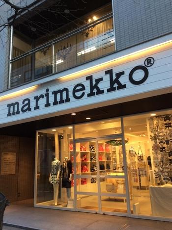 marimekko(マリメッコ)といえば、ウニッコ柄を代表とした北欧好きにはたまらないカラフルでかわいいアイテムが手に入るお店。  プランタン銀座の近くでアクセスも◎。