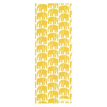 人気のエレファンティは1969年にデビューしたパターン。ゾウが連なった可愛いデザインは遊び心に溢れています。