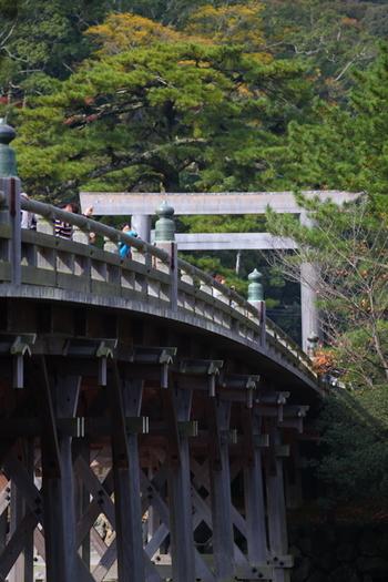 その他にも、内宮神楽殿や、宇治橋や五十鈴川などがあります。