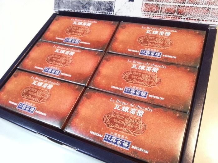 煉瓦が横浜発祥だとは知りませんでした。煉瓦の壁のようなパッケージも凝っていて素敵ですね♪
