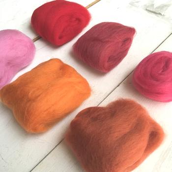 ふわふわ可愛い♪羊毛フェルト雑貨の作り方・作品をご紹介