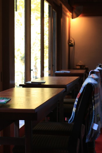 北鎌倉駅0分、円覚寺の境内にあるほっとするカフェ「安寧」(あんねい)。水木金と第二土曜日のみの営業です。
