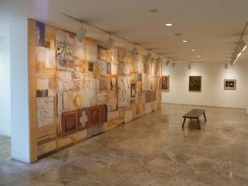 現代洋画家脇田和氏の美術館です。  軽井沢駅から旧軽へ向かう通りから、少し入った閑静な立地にあります。