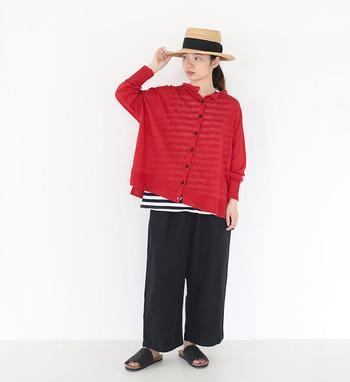 """これからの季節に活躍してくれそうな""""赤""""のアイテムと着こなしをご紹介します♪"""