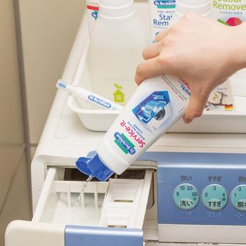 汚れが溜まりやすい部分も念入りに。長雨でも気持ちのいいお洗濯ライフを続けるための基本は、洗濯機のこまめなメンテナンスです。