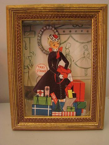 シャドーアートはポップな絵柄にもぴったり。見ているだけで楽しくなりそうな絵柄ですね。