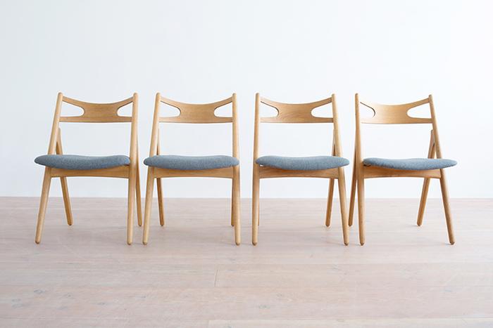 名作椅子とは1900年代を中心に活躍した各国のデザイナーが作った椅子のことで、デザイナーズチェアとも呼ばれています。なかでも1900年代半ばからアメリカで次々と生み出されたミッドセンチュリーの流れを汲む椅子は、当時の日本や北欧のデザイナーたちの間でもインスピレーションの元となり、続々と素晴らしいデザインが生み出されることとなりました。今でもヴィンテージものが大人気。著作権が切れた名作椅子はリプロダクト(復刻版)も続々と登場しています。