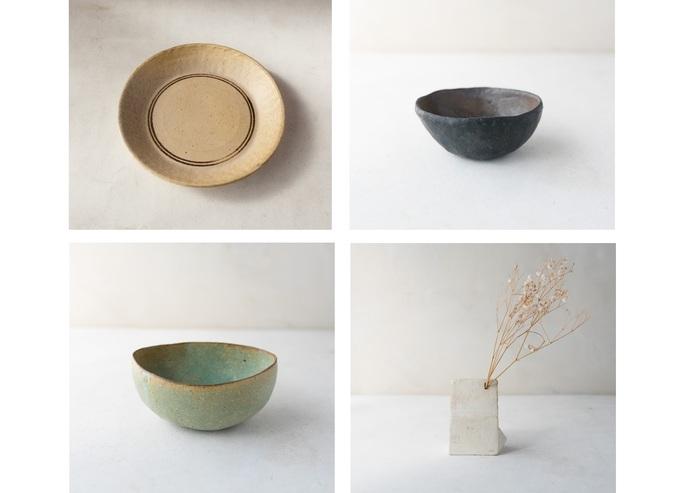 静岡県・伊豆高原で作陶を続ける鈴木敬子さんの展示は2017年1月に開かれました。