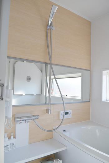 マジックソープの洗浄力があればお風呂もピカピカになります♪