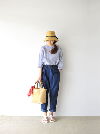 帽子と一言にいっても、素材、デザインなど、タイプは様々。夏のおしゃれを存分に楽しむためにも、お気に入りを一つ加えてみませんか?
