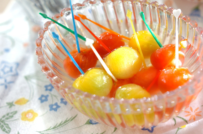 旬のプチトマトを使ったコンポート。生姜を使うので、甘い中に程よい爽やかさが口の中に広がります。野菜嫌いなお子さまもこれなら食べてくれるかも!?