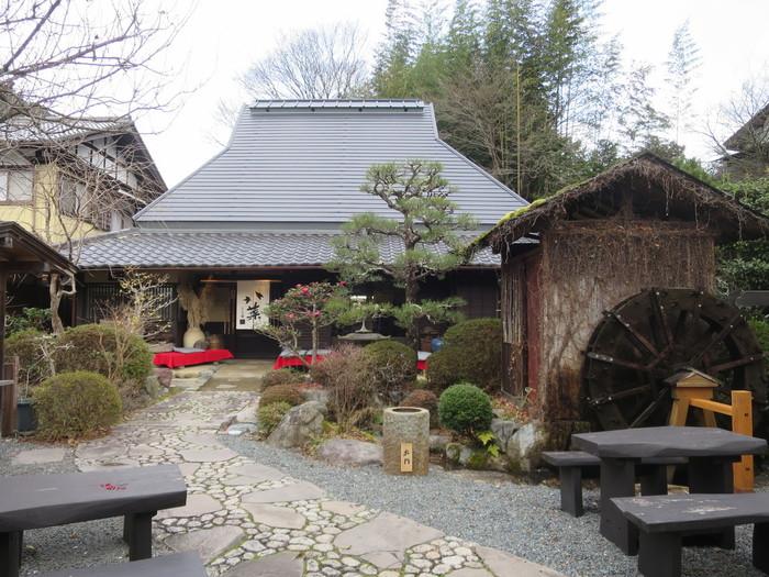 志野 松門は、三千院参道の一角にある地元京野菜を使った料理がいただけるレストランです。