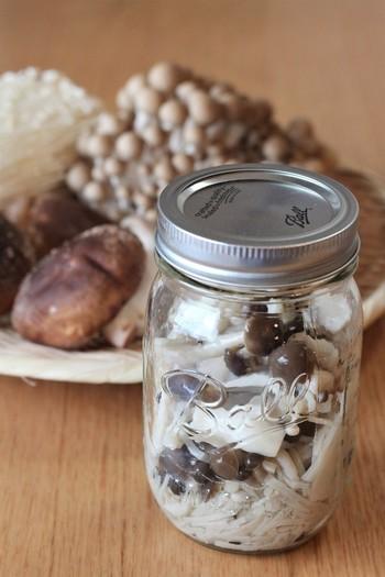 """今話題の常備菜。保存のきくレシピの中で、ひときわ注目されている""""塩きのこ""""をご存知ですか?"""