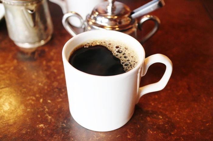 真っ白なマグにたっぷり注がれたオリジナルブレンドコーヒー、その名も「DAUGHTER」と聞いてほっこり。ご夫婦の愛情が伝わるネーミングです。香りがやわらかく、酸味が苦手な方にもおすすめです。