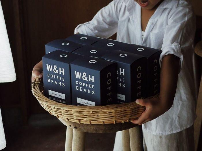 幸せの香りを閉じ込めたコーヒー豆は、テイクアウトはもちろん、WEB SHOPでも購入することができます。遠方に住んでいても味わうことができるのは、とっても嬉しいですね。