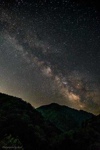 星の見える場所であれば、夜まで楽しめます。 美しい星空を眺めて、ゆっくりティーやミルクをいただきませんか。