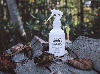 """北海道発「NALUQ(ナルーク)」は""""森のあるライフスタイル""""を提案するブランド。オーガニック処方の「リネンウォーター」はカラダにも環境にも優しくて安心です。"""