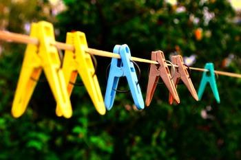 やっぱり晴れの日は、洗濯日和。もう知っているかもしれませんが、やはりカラッと晴れた日の洗濯物は気持ちいですよね。