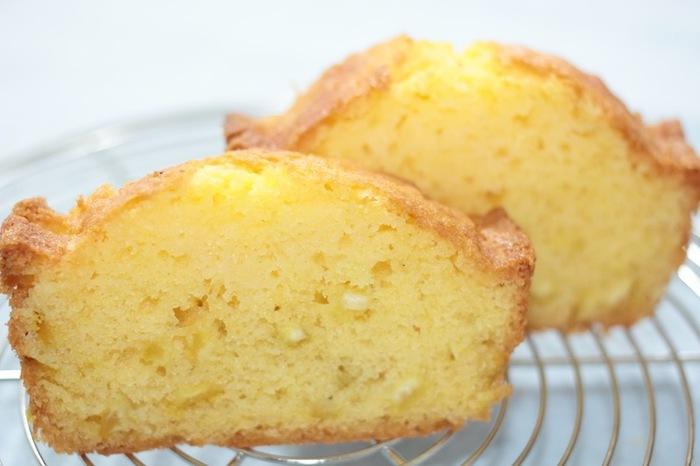 爽やかな響きが懐かしさを感じる「レモンケーキ」。 むかしよく食べていたという方もいらっしゃるのでは?