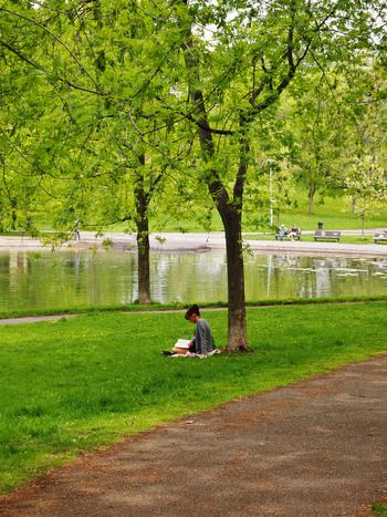 家の近くや、ちょっと足を伸ばせば行けるような場所にお気に入りの公園を見つけたら、その中でも特に気持ちがいいと感じる自分だけの特等席を決めておきましょう。そこに行くとホッとできる場所をいくつか持っていると、心のゆとりにもつながりますよ。