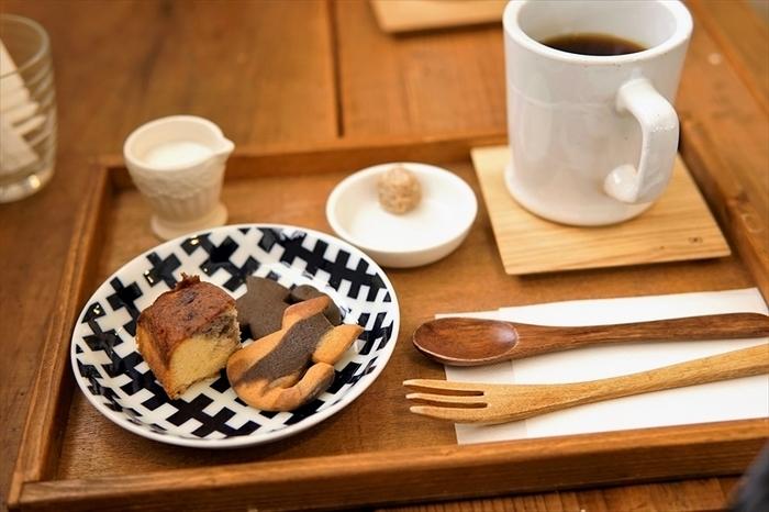 コーヒーはオーガニックやフェアトレードのものなど、選び抜かれた素材が選ばれています。毎日新鮮でおいしいコーヒー作りをモットーにしている丁寧なお店です。