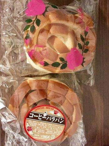 島根県出雲市・なんぼうパンから発売されています。バラがプリントされたパッケージは、世界的にも希少価値では(^^)
