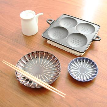 熱々のままテーブルに移動して、出来立ての食感を楽しむのも良し。ホームパーティーで使っても喜ばれそうです。