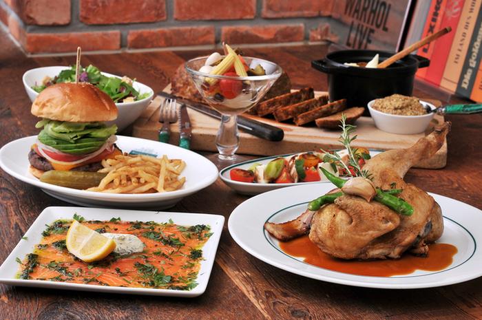 美味しさはもちろん、ボリュームもしっかりあって大満足のお料理*一人でも、お友達とでも、気軽に立ち寄ってみてください。