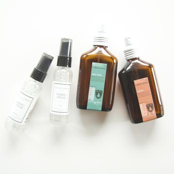 スプレータイプのアロマも、気軽に香りが楽しめるフレグランスアイテムの1つです。ワンプッシュするだけで、ふんわりほのかな香りが楽しめます。