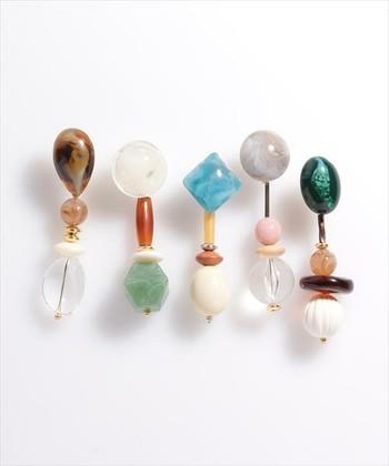 レトロっぽくて可愛いね♪この夏のマストアイテム『大ぶりイヤリング』カタログ帖