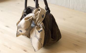 バッグのアクセントにしてもかわいいですね。