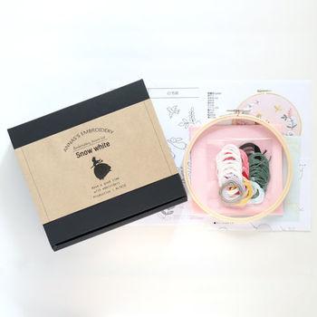 また、オンラインショップでは刺繍枠キットやブローチ刺繍キットなども販売されていますので、初心者さんにもチャレンジしやすくなっていますよ♪
