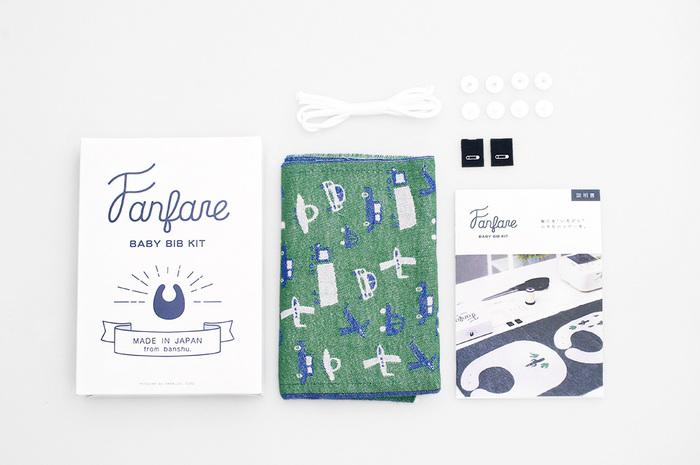 ハンドメイドが苦手な方にも嬉しい制作キットのセット商品の販売もあるので、手軽に播州織のアイテムが作れますよ。