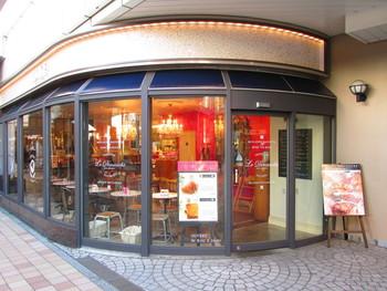 北千住駅に直結している「ルミネ」1階にあるブーランジェリー 「ル・ディマンシュ ルミネ北千住店」。
