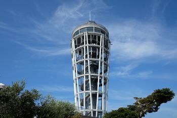 江の島のシーキャンドルは、美しい展望台です。