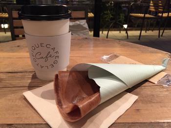ファッションブランド発のカフェと聞いて、おしゃれなだけかも?と思っていたら… 最高級のエシレ産バターにフランス産の小麦を使った本格派。