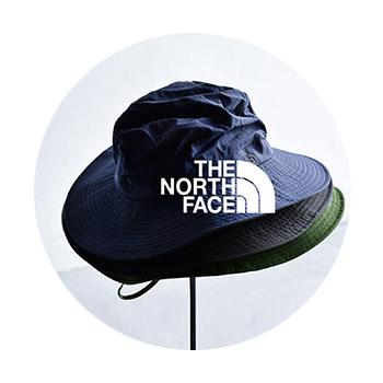THE NORTH FACE(ノースフェイス)のUVケアキャンプハット。 UPF15〜30対応。 長めのつばが、紫外線から顔や首周りを保護してくれます。 おしゃれなデザインだからアウトドアにも♪