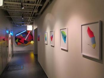 ギャラリーでは、京都を拠点に活動するクリエーターの企画展をはじめ、さまざまな展覧会やイベントが行われています。