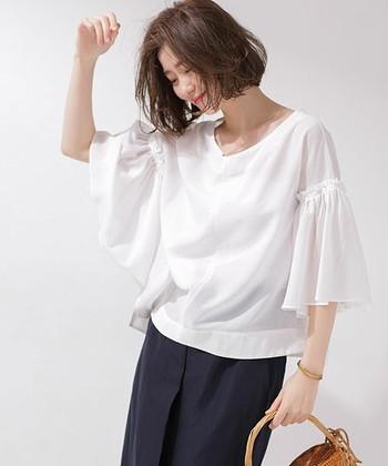 いかがでしたか?ふんわり風をはらむギャザーアイテムは、夏ファッションを涼しげに素敵に彩ってくれます。ぜひコーディネートに取り入れてみてくださいね♪