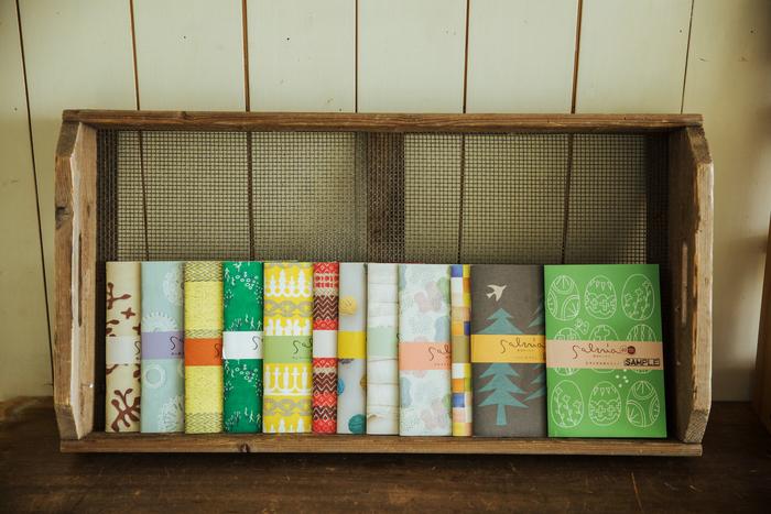 2006年創刊の『季刊サルビア』は、中身はもちろんのこと、表紙のデザインも楽しめます。現在までで40冊発行されています