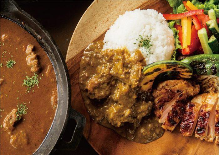 オリジナルスパイスグランピングカレープランも新登場。京の新鮮な食材とスパイスを使って、みんなで役割分担をしながら作った本格派カレーは、旅の良い思い出になりそうですね。