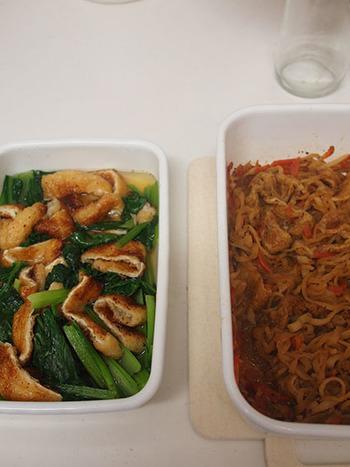 常備菜は琺瑯容器を鍋代わりにすれば、調理後そのまま冷蔵庫で保存できます。洗い物や移し替えの手間が減るのは嬉しいですね。