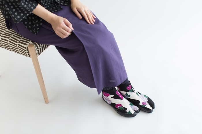和風モダンでパッと目を引く大胆なテキスタイル。京都生まれの「SOU・SOU(ソウソウ)」