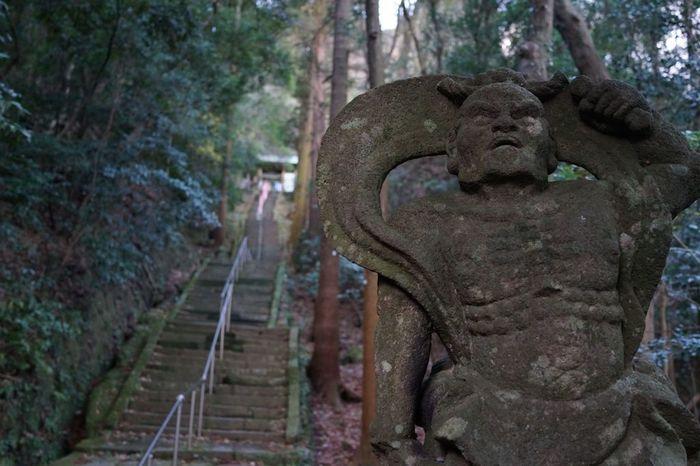 国東コース(K-2)の終点にある【文殊仙寺(もんじゅせんじ)】はあの「三人寄れば文珠の知恵」と呼ばれることわざにまつわるお寺。日本三文珠の一つであり、知恵の神様として古くから愛されているお寺です。