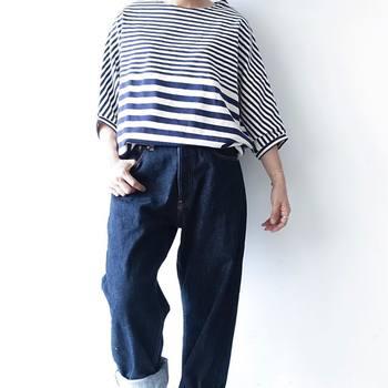 元々ジーンズはインディゴ染めでしたが、今は合成のインディゴが使われていることが多くなっています。